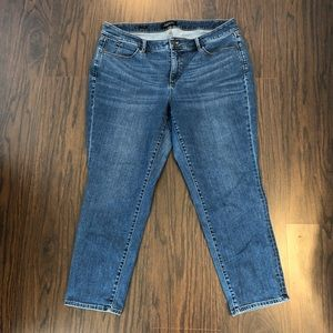 Talbots jeans slim ankle size 16 WP